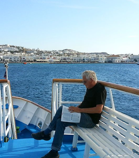 Rückfahrt von Mykonos nach Naxos