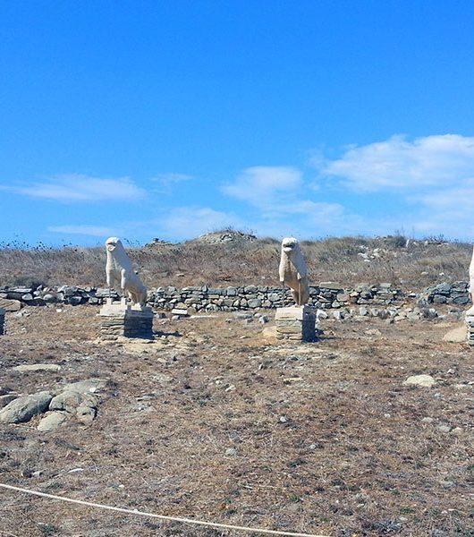 Delos: griechischer Hochkultur in der Ägäis