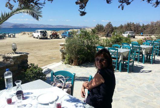 Taverna Paradiso in Agia Anna, Naxos