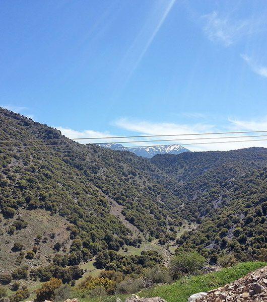 Berge zwischen Mithoi und Malles