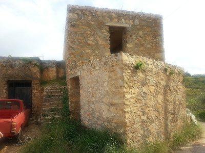 Rohbau in der Nähe von Panormos