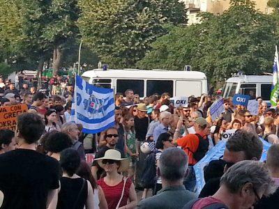 Demo zum Referendum