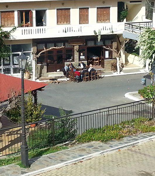 Kafenion in Kandanos