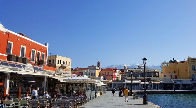 Chania im Nordwesten Kretas