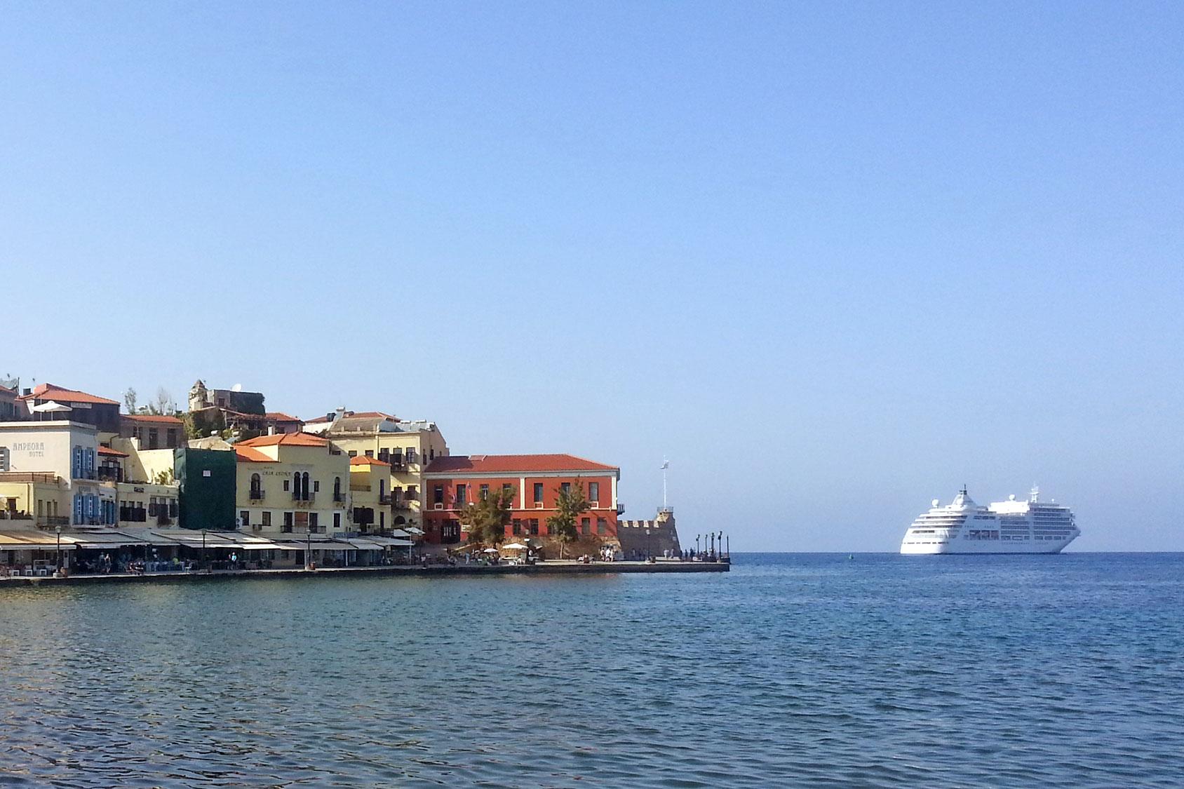Chania Venezianischer Hafen Kreta