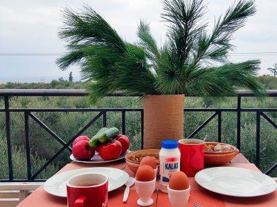 Frühstück Kreta-Zuhause