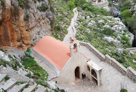 Kourtalitiko-Schlucht Kreta