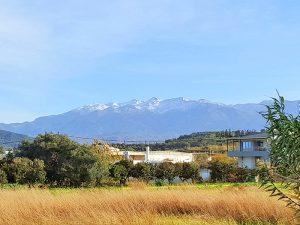 Wasser auf Kreta kommt von den Bergen, z.B. Lefka Ori