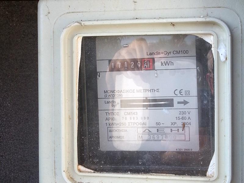 Stromzähler von D.E.I.