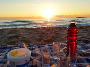 Sunset am Strand von Falassarna