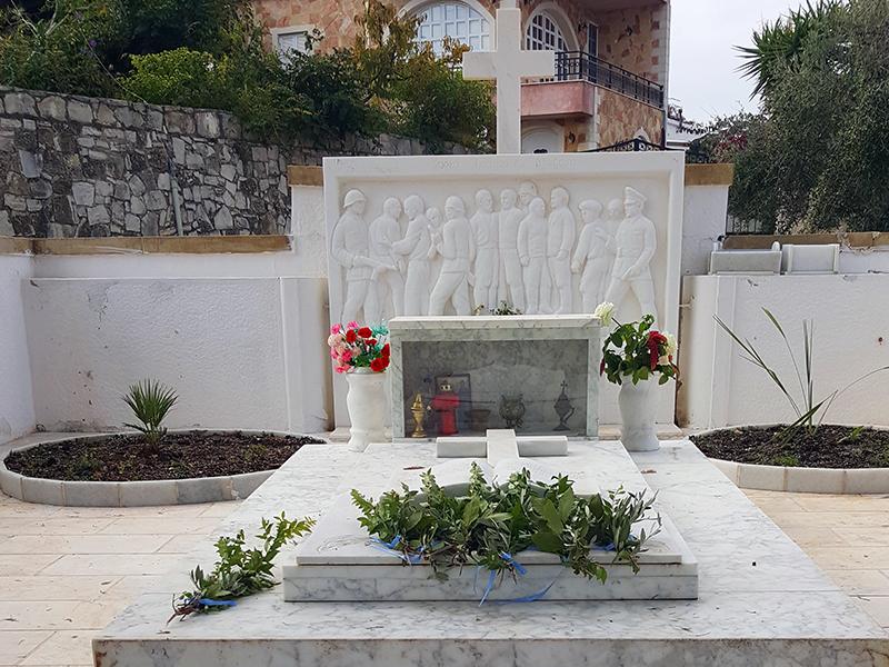 Gedenkstätte Kondomari, Kreta