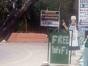 Free Wifi auf Kreta