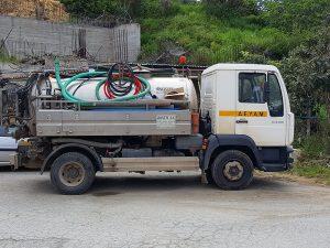 Abwasser Entsorgung auf Kreta