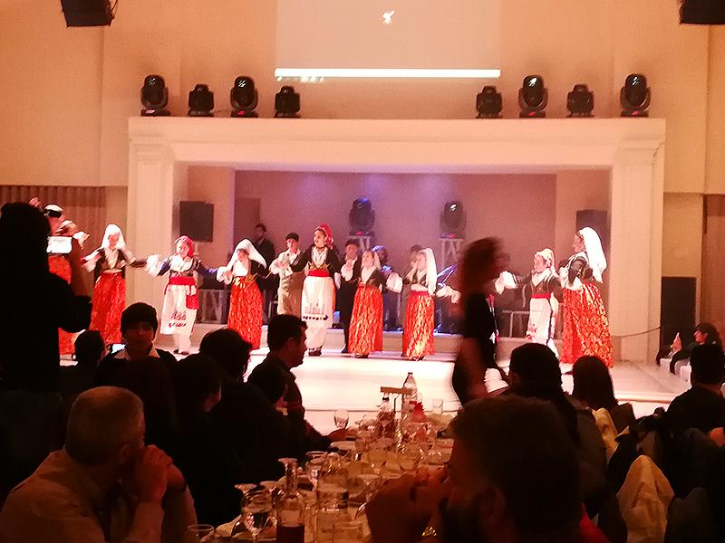 Tanzen in Voukolies
