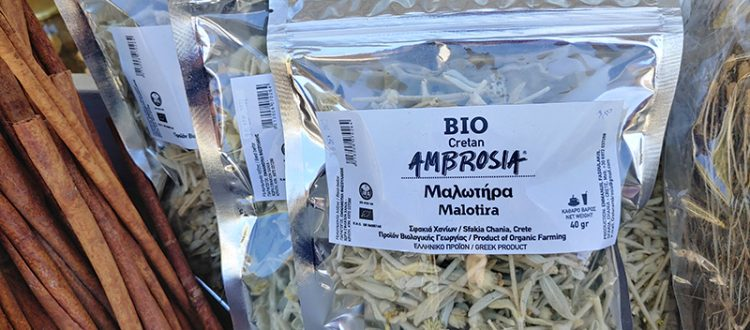 Malotira aus Kreta in Bio-Qualität