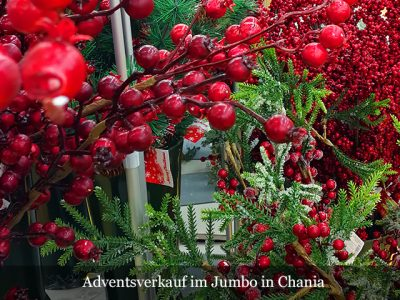 Deko zum Advent im Jumbo