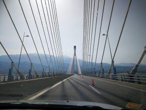 Rio-Andirrio-Brücke bei Patras