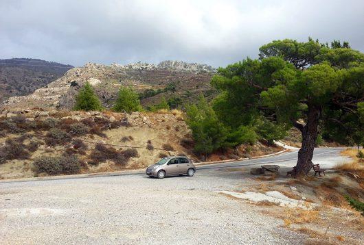 Im Bergland südlich von Myrtos
