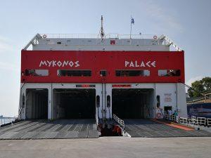 Mykonos Place zwischen Piräus und Chania