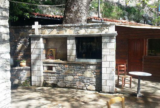 Kapelle in der Bergregion nördlich von Mirtos