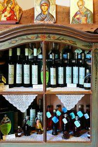 Shop im Kloster Chrysopigi