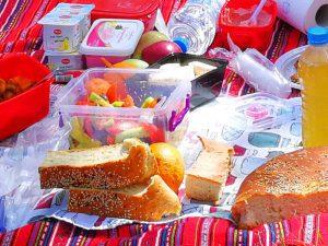 Picknick zum sauberen Montag