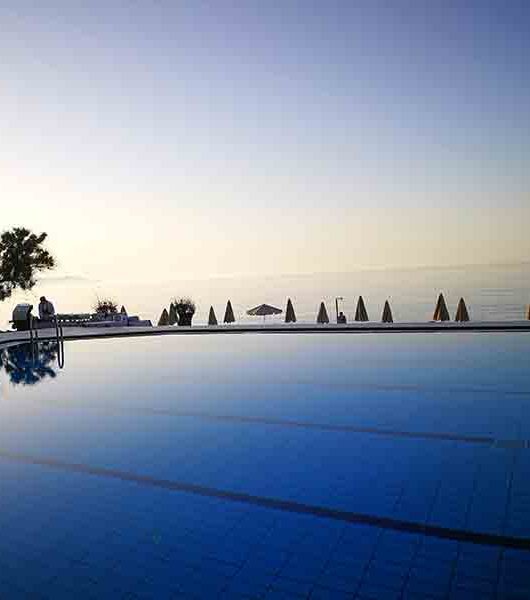 Blue Dome Hotel in Platanias