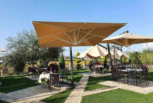 Restaurant in Albanien