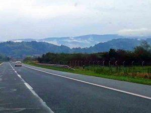 Auf der Autobahn Maribor - Split