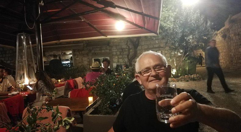 Im Restaurant in Dubrovnik