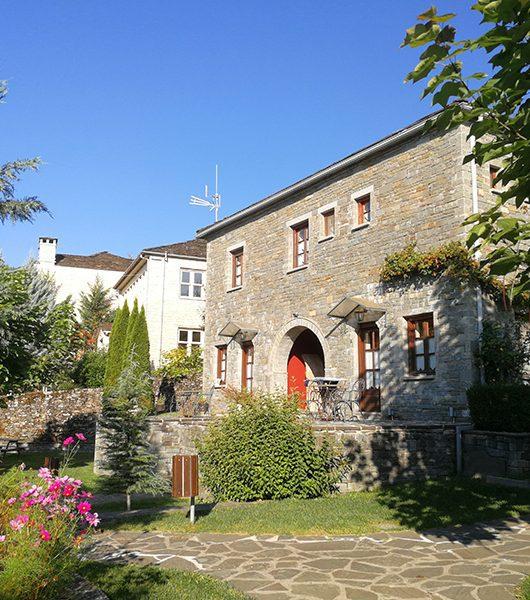 Hotel Machalas in Kipoi im Epirus