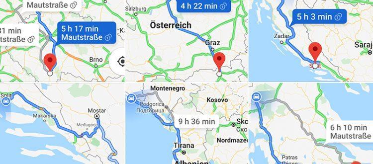 Routenplaner Berlin - Chania