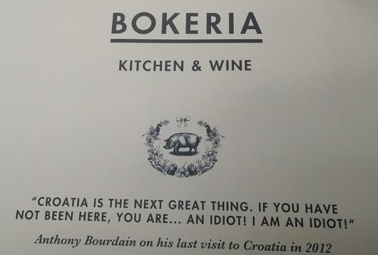 Restaurant Bokeria in Split