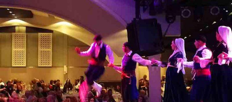 Tanzensemble in der Portokali Hall