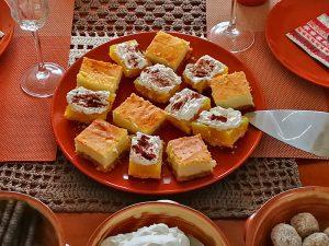 Kuchen mit Quark aus Mizithra