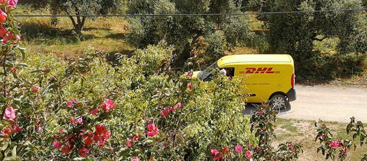 DHL-Lieferung nach Kreta