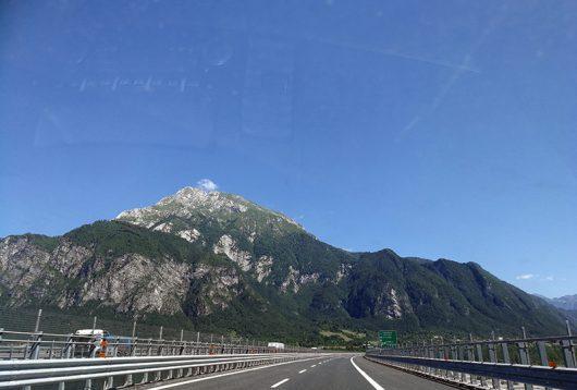 Alpendurchfahrt