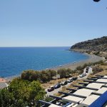 Mirtos: Blick vom Big Blue Hotel