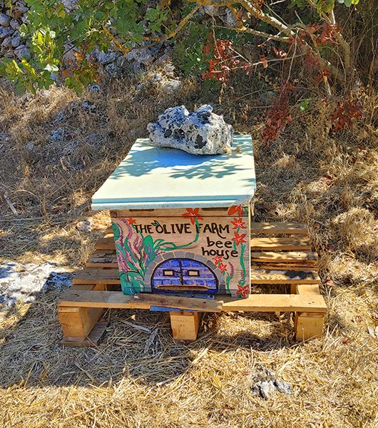 Bienenhaus bei The Olive Farm
