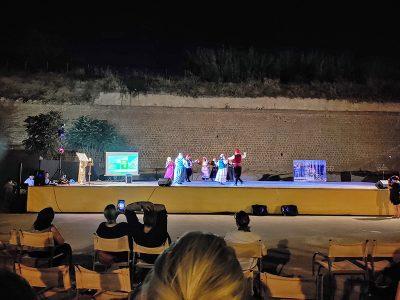 Tanzperformance im Theatro Anatoloki sTafrou