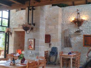 Gramvousa-Restaurant im Oktober 2020
