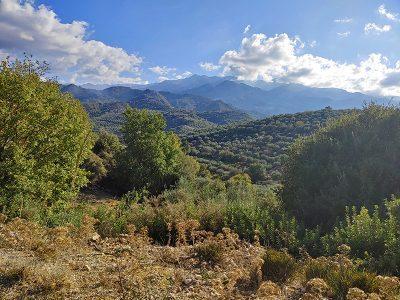 Auf dem Weg von Platanias nach Drakona