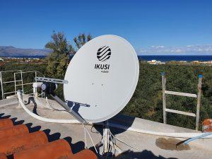 SAT-TV auf unserem Dach