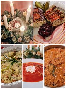 Traditionelles Advents-Buffet