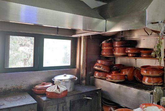 Dounisa Taverne Küche
