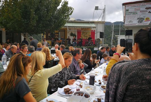 21. Kastanienfest in Prases 2018