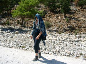 Fertig: nach der Samaria-Schlucht