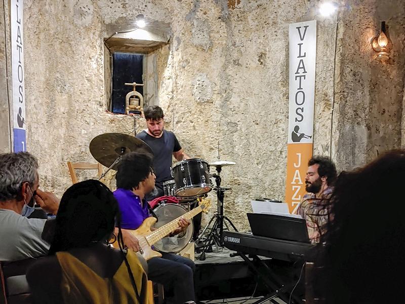 Yoel Soto und Band bei Vlatos Jazz am 01.08.2021